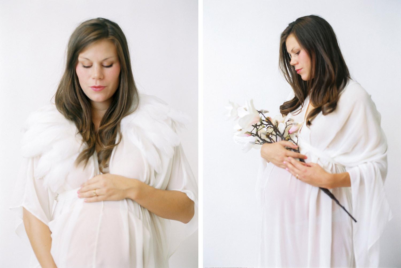 Gravidfotografering studio