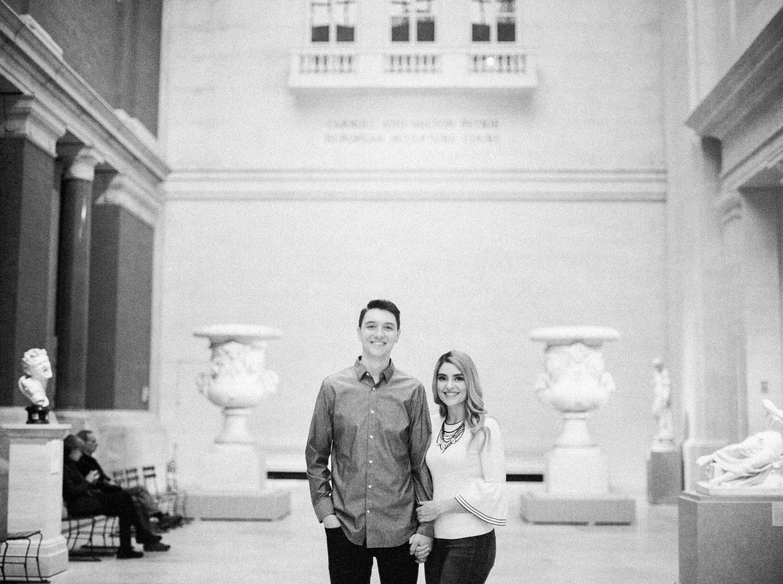 Parfotografering New York Metropolitan