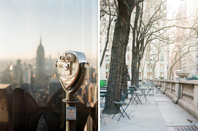 New York parfotografering Brooklyn Bridge