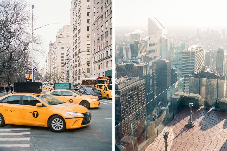 New York engagement Brooklyn Bridge