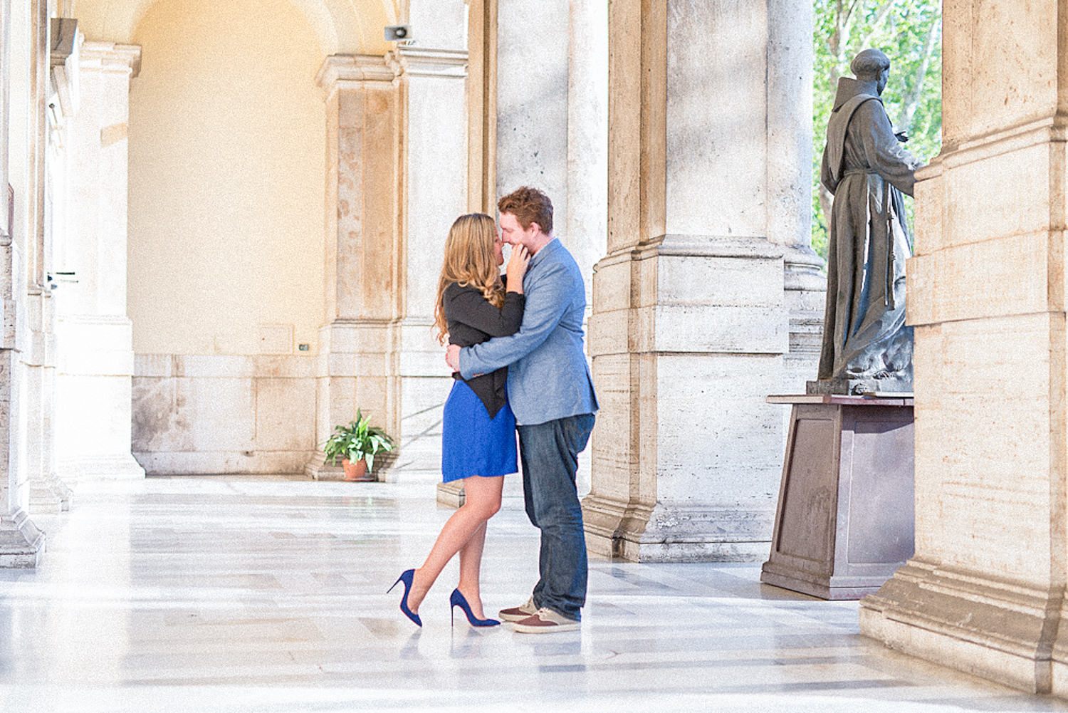 Engagement session in Rome