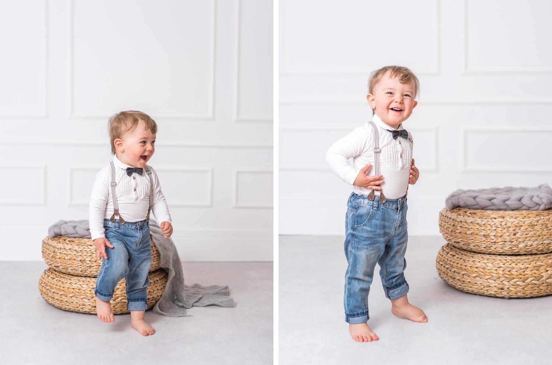 Barnfotografering studio